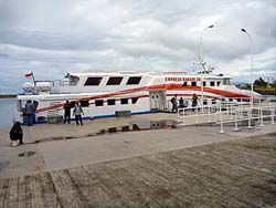 アチェからウェー島へのファーストボート