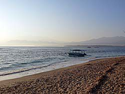 夕暮れのギリアイル海岸