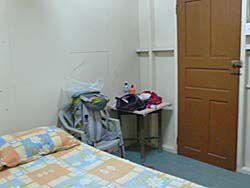 泊まった宿の部屋