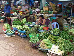 ユーンドンの市場