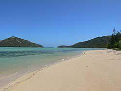 マタザワレブ島東海岸