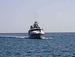 マレーシア船籍のサトゥーン2号