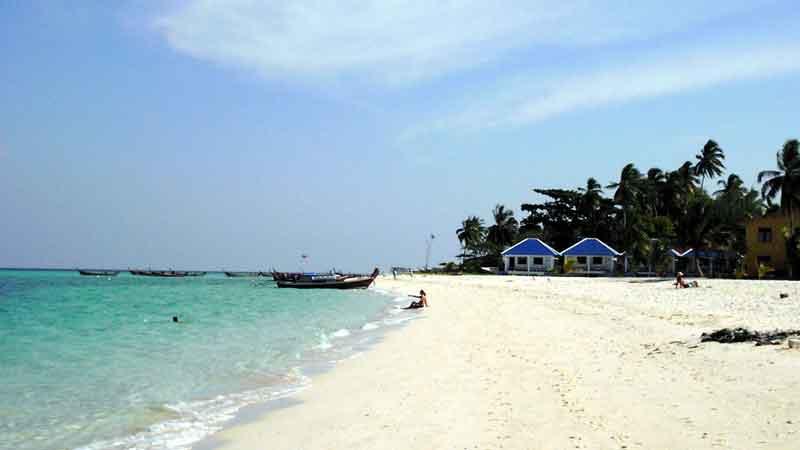 タイ リペ島のビーチ
