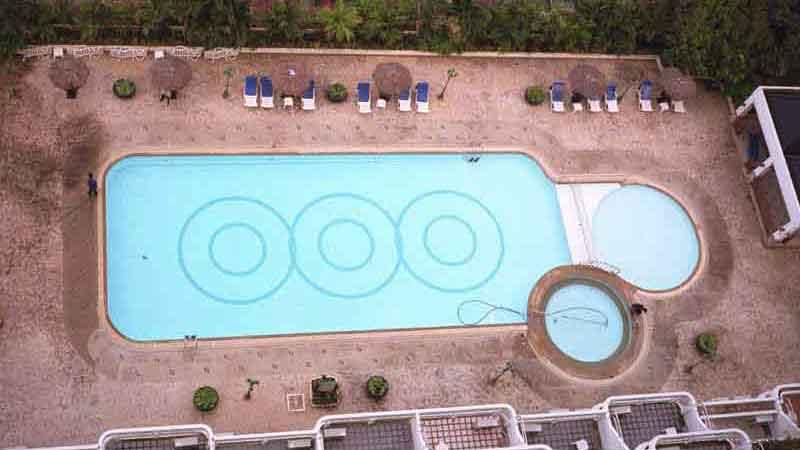 プーケットのホテルのプール