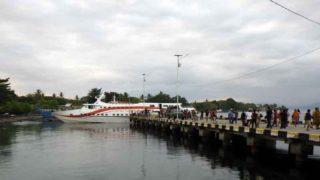 セラム島アマハイの波止場