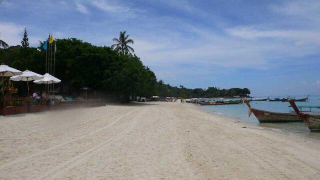 タイ ピピ島のレムトンビーチ