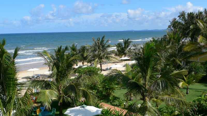 ベトナム フーコック島の海の眺め