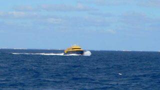 メキシコ ユカタン半島からコスメルへ渡るボート