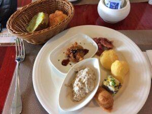 パラオロイヤルリゾートの朝食