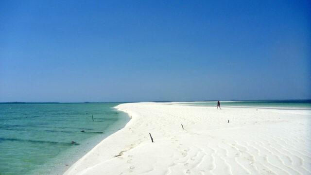 インドネシアケイクチル島 スネークアイランド