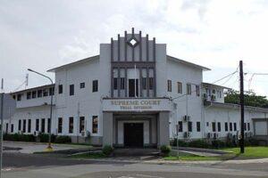 コロールの旧南洋庁庁舎